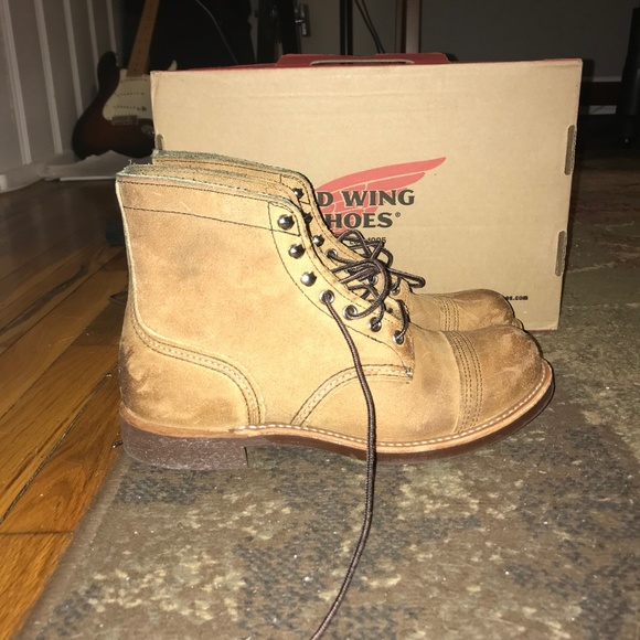 9ae1a63023a Red Wing Iron Ranger 8083 NWT